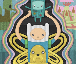 adventure, bmo, and finn image