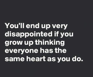 quotes, heart, and disappointed image