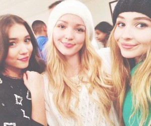 sabrina carpenter, rowan blanchard, and dove cameron image