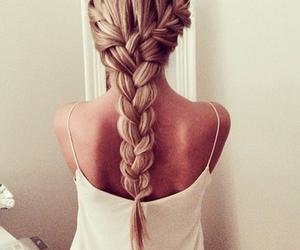 braids, makeup, and blondie image