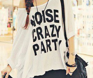 fashion, party, and crazy image