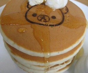pancakes and cute image