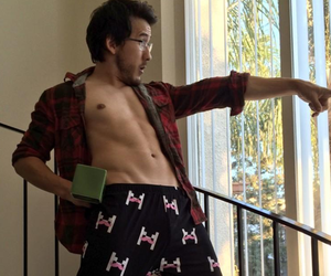 gamer, pants, and mark fischbach image