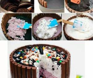 cake, diy, and oreo image