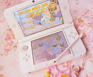 kawaii, nintendo 3ds, and geek image