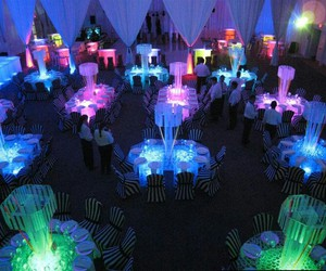 colorful, neon, and party image