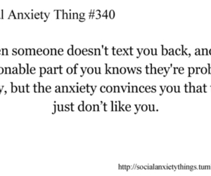 anxiety, quote, and social anxiety image