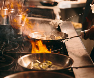 chef, cuisine, and delicious image