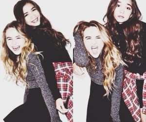 best friends, sabrina carpenter, and rowan blanchard image