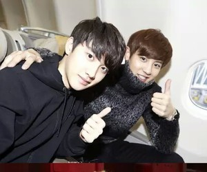 exo, chanyeol, and d.o image