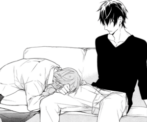 bl, manga, and ten count image
