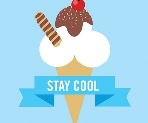 cool, ice cream, and wallpaper image