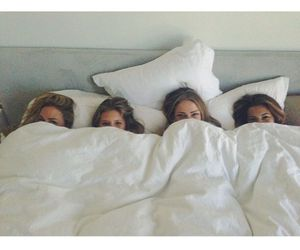 girls, goals, and bed image