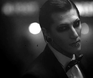 chris motionless, motionless in white, and band image