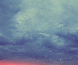vintage, sky, and sunset image
