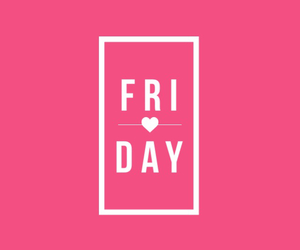 pink, beautiful, and friday image