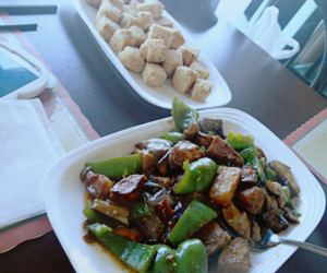 chinese, fried, and food image