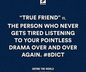 friend, friendship, and true image
