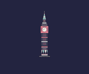 Big Ben, blue, and Dream image