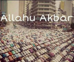 islam, muslim, and allahu akbar image