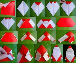 diy, christmas, and origami image