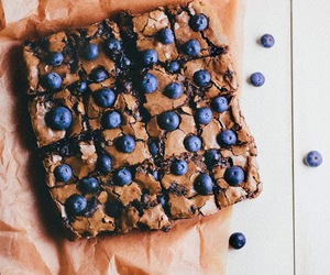 blueberry, cake, and delicious image
