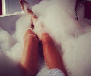 bath, girly, and relax image