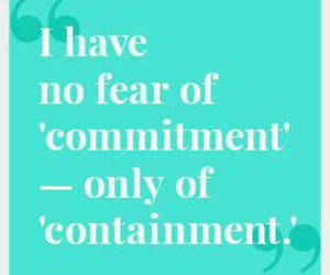quote, justsaying, and commitment image