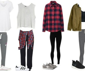 day, outfits, and Polyvore image
