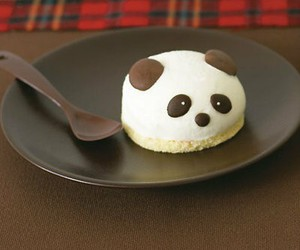 panda, food, and sweet image