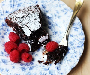 dessert and mocha cake image