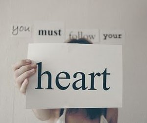 follow, heart, and photo image