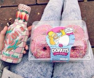 donuts, food, and arizona image