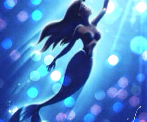 ariel, disney, and the little marmaid image