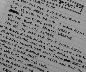 broken dreams, green day, and song image