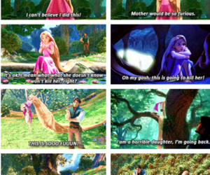 tangled, fairytale, and fun image