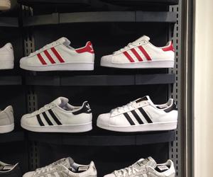 2, adidas, and black image