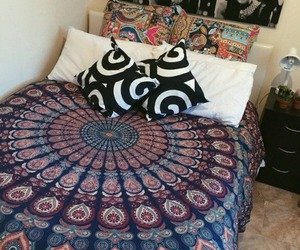 alternative, beautiful, and bedrooms image
