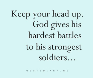 god, quote, and soldier image