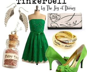 green, disney, and fairy image
