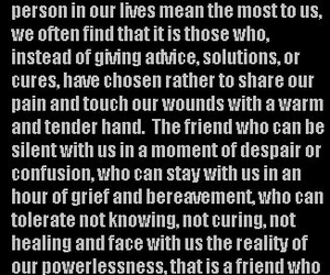true, friendship, and quotes image