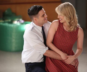 glee, dianna agron, and gle image