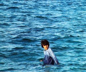 george harrison, beatles, and ocean image