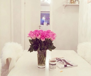 flowers, girly, and rose image
