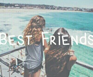 friends, best friends, and girl image