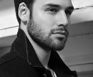 ryan guzman, black and white, and Hot image