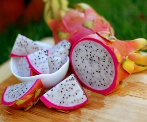 fruit, dragon fruit, and food image