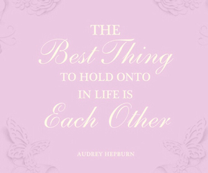 audrey hepburn, quotes, and text image