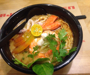 noodle, ramen, and seafood image