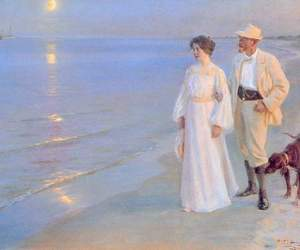 painting, peder severin kroyer, and art image